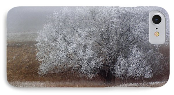 Frost And Fog IPhone Case by Alana Thrower