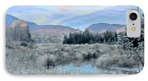 Frost On The Bogs IPhone Case by John Selmer Sr