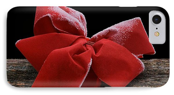 IPhone Case featuring the photograph Frosted Bow by Nikolyn McDonald
