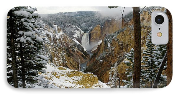 IPhone Case featuring the photograph Frosted Canyon by Steve Stuller
