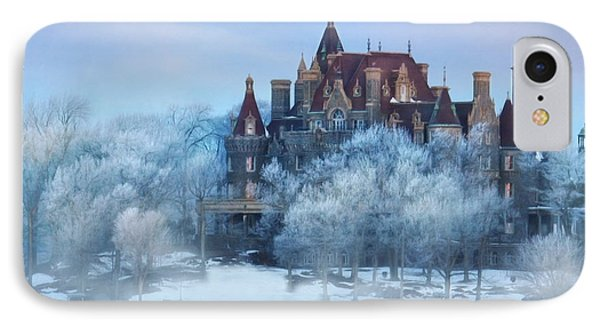 Frosted Castle Phone Case by Lori Deiter