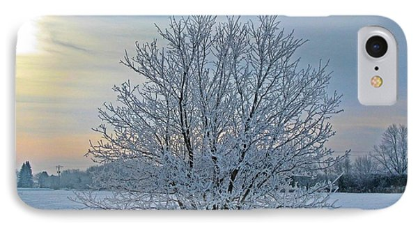 Frosted Sunrise IPhone Case by Heather King