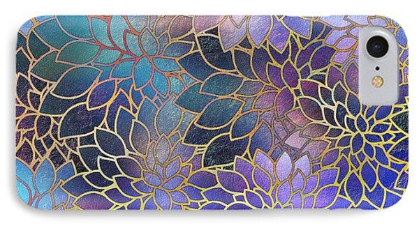 IPhone Case featuring the digital art Frostwork Fantasy by Klara Acel