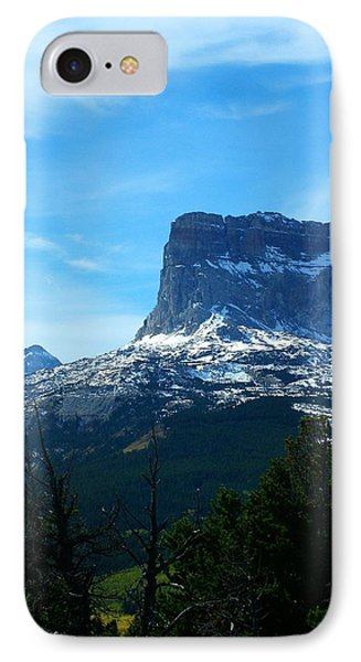 Frosty Chief Mountain IPhone Case