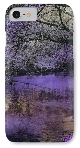 Frosty Lilac Wilderness IPhone Case