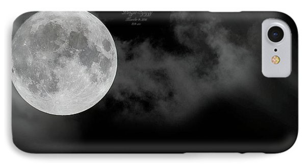 Frosty Moon November 14 2016 IPhone Case