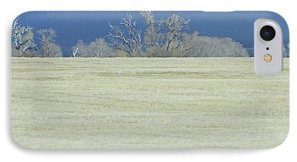 Frosty Morning Landscape IPhone Case