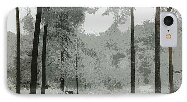 Frosty Paradise IPhone Case by Matthias Groeneveld