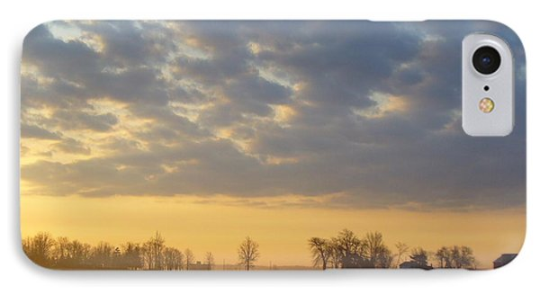 Frosty Spring Sunrise IPhone Case
