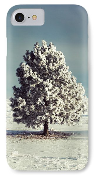 Frosty The Tree IPhone Case by Todd Klassy
