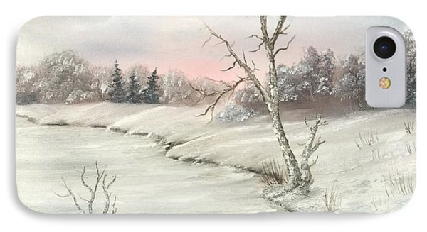 Frosty Winter Morning  IPhone Case