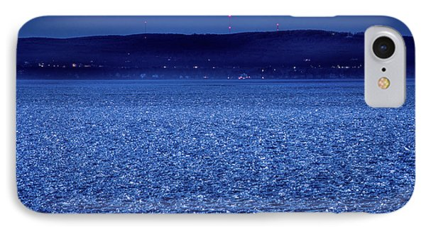 IPhone Case featuring the photograph Frozen Bay At Night by Onyonet  Photo Studios