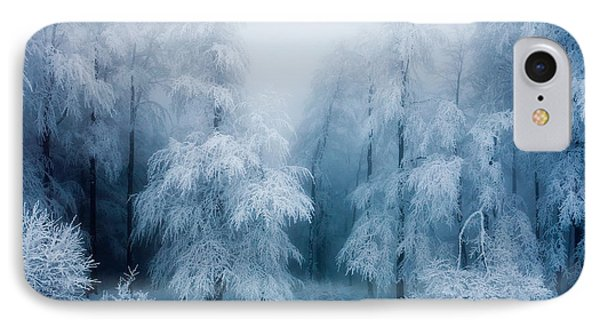 Frozen Forest Phone Case by Evgeni Dinev