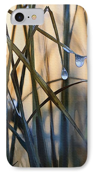 Frozen Raindrops Phone Case by Sharon Foster