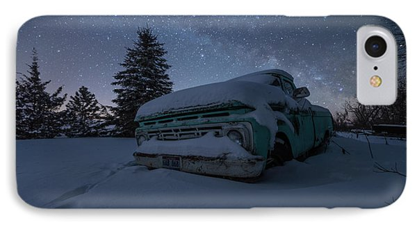 IPhone Case featuring the photograph Frozen Rust  by Aaron J Groen