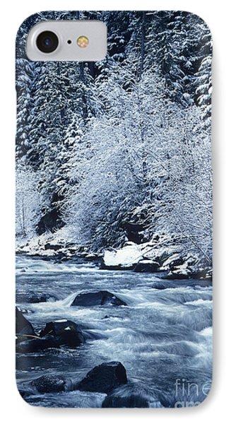Frozen Salt Creek Phone Case by Greg Vaughn - Printscapes