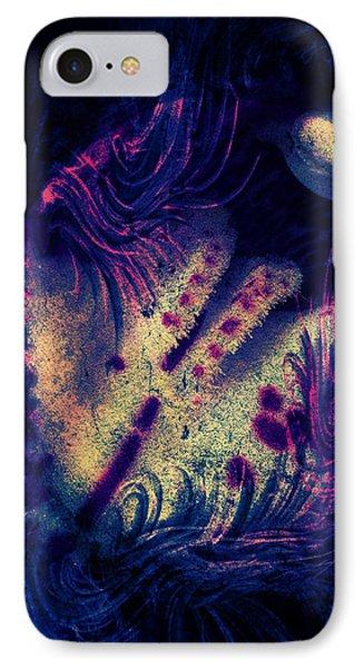 iPhone 7 Case - Frozen Violet by Orphelia Aristal