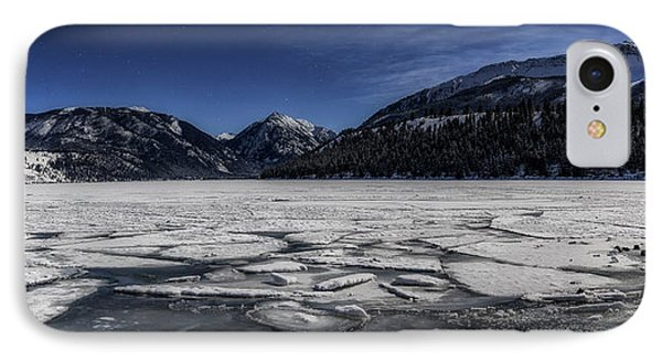 IPhone Case featuring the photograph Frozen Wallowa Lake by Cat Connor
