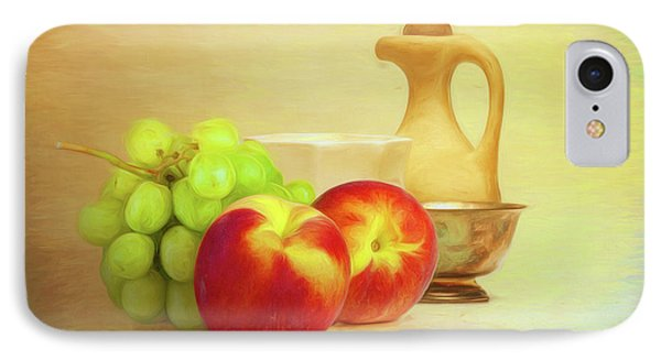 Fruit And Dishware Still Life IPhone 7 Case