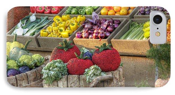 Fruit And Veggie Display IPhone Case