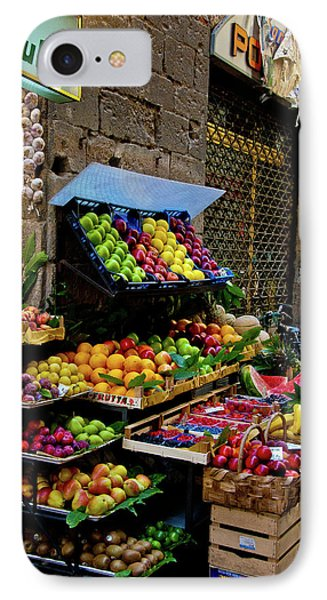IPhone Case featuring the photograph Fruit Stand  by Harry Spitz