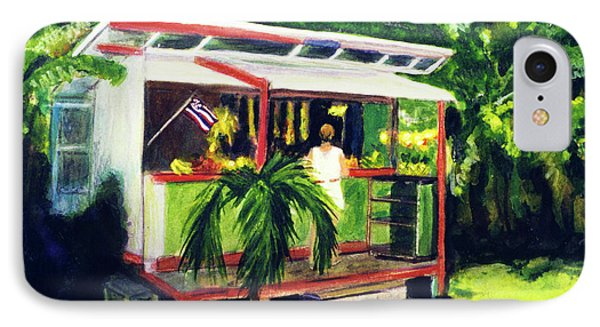 Fruit Stand North Shore Oahu Hawaii #163 Phone Case by Donald k Hall