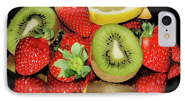 IPhone Case featuring the photograph Fruits by Elvira Ladocki