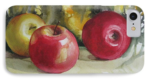 IPhone Case featuring the painting Fruits Of The Earth by Elena Oleniuc