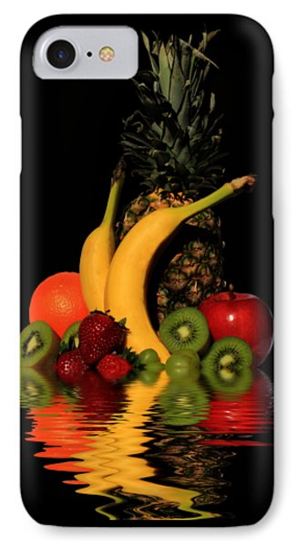 Fruity Reflections - Dark IPhone Case by Shane Bechler
