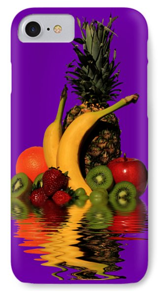 Fruity Reflections - Medium IPhone Case by Shane Bechler