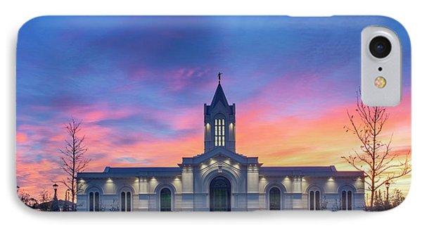 Ft. Collins Temple At Sunrise IPhone Case