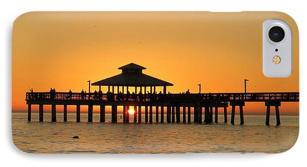 Ft. Myers Pier IPhone Case