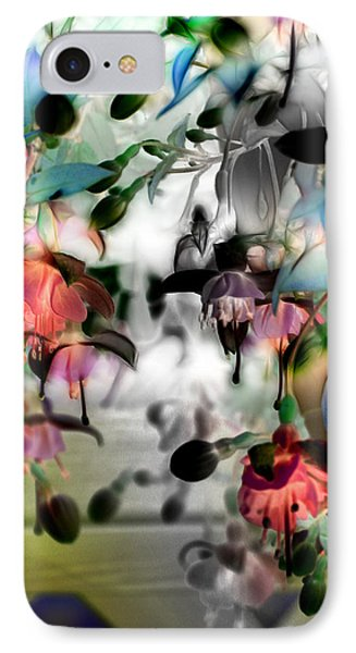 Fuchsia Abstract IPhone Case by Stuart Turnbull