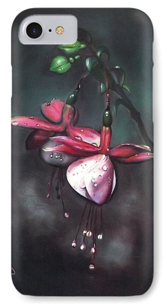Fuchsia And Dew  IPhone Case