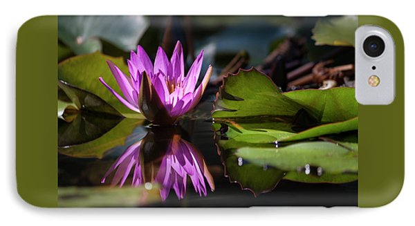 IPhone Case featuring the photograph Fuchsia Dreams by Suzanne Gaff