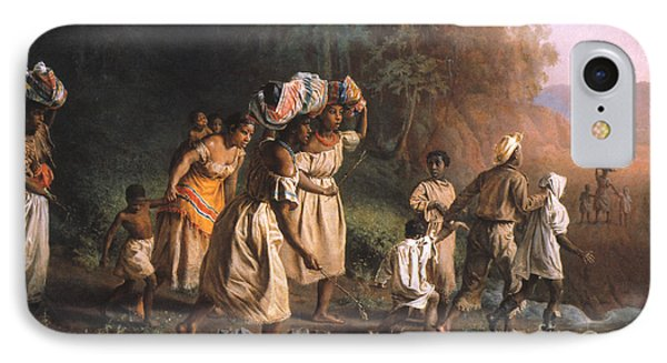 Fugitive Slaves, 1867 IPhone Case by Granger