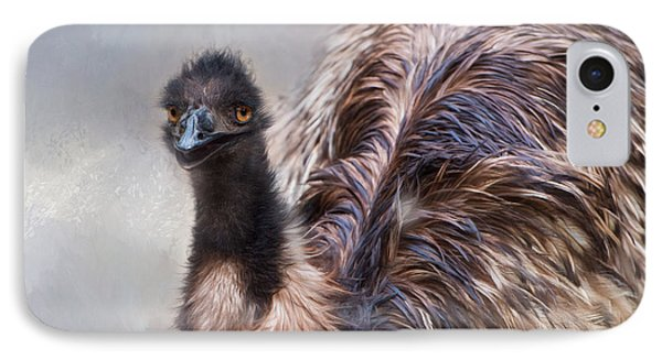IPhone Case featuring the photograph Full Feather by Robin-Lee Vieira