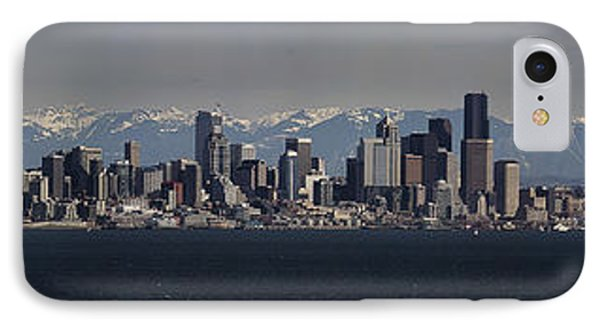 Full Frontal Seattle Phone Case by James Heckt