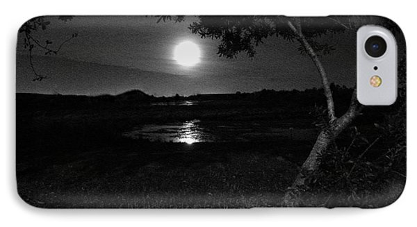 IPhone Case featuring the photograph Full Moon 05 by Terri Mills
