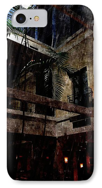 Full Moon At Tremont Toujouse Bar IPhone Case by Karl Reid