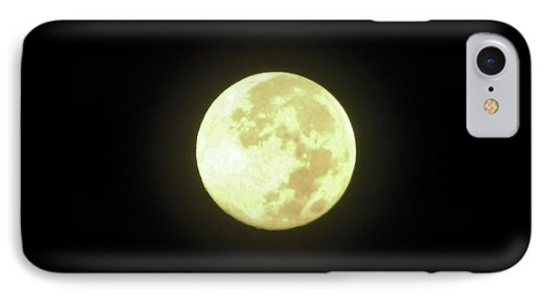 Full Moon August 2014 IPhone Case by D Hackett