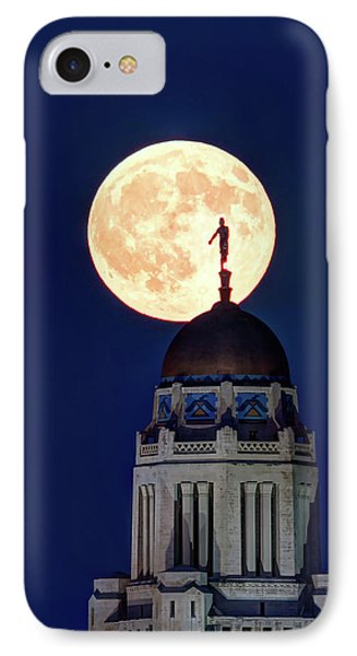 Full Moon Before The Eclipse IPhone Case