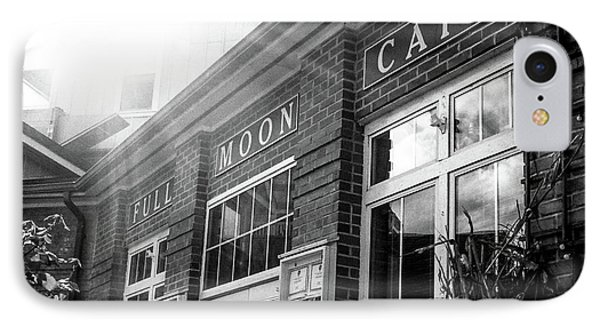 Full Moon Cafe IPhone Case by David Sutton