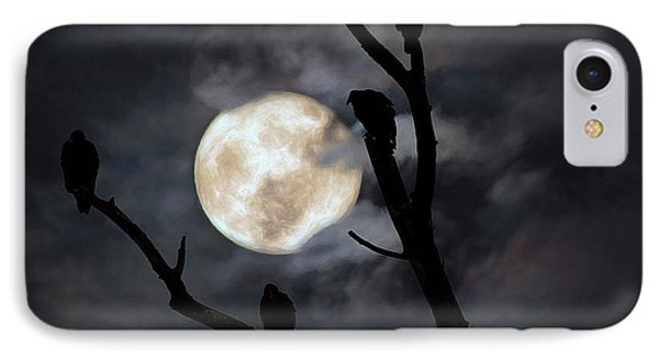 IPhone Case featuring the photograph Full Moon Committee by Darren Fisher