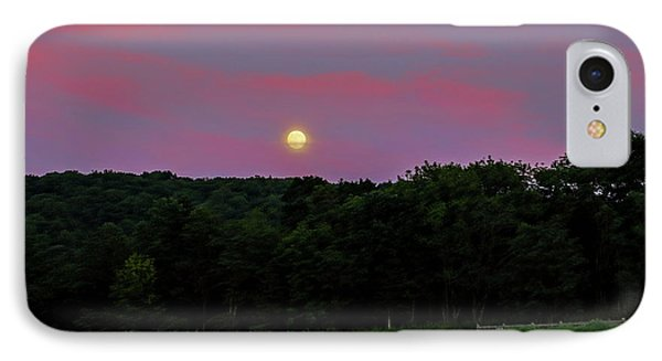 Full Moon IPhone Case by Jean Haynes