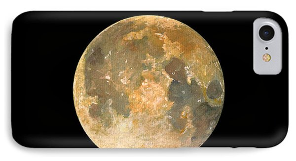 Full Moon IPhone Case by Juan Bosco