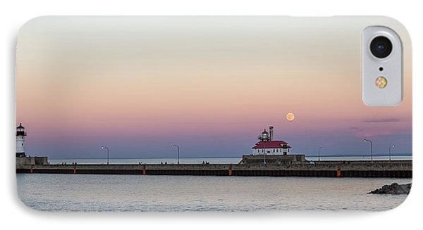 Full Moon Over Canal Park IPhone Case