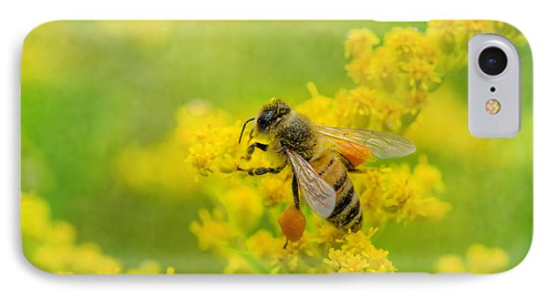 Honeybee iPhone 7 Case - Fully Loaded by Susan Capuano