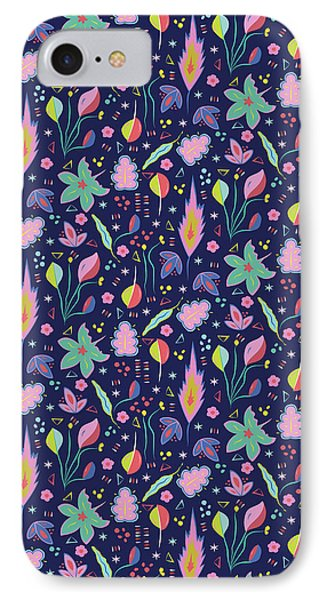 Fun In The Garden IPhone 7 Case by Elizabeth Tuck