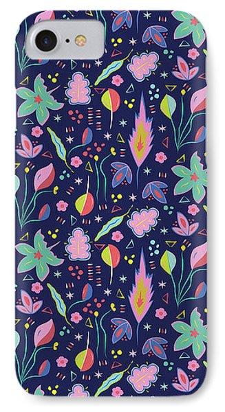 Fun In The Garden IPhone Case by Elizabeth Tuck